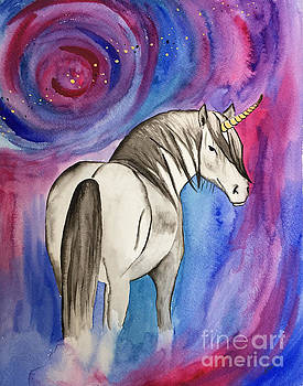 Celestial Unicorn  by Sarah Bevard
