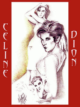 Celine Dion by Martin Williams