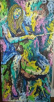 Cellist by Bill Collier