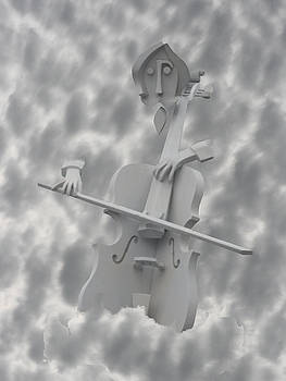 Cello in the Clouds by David Houston