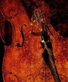 Cellos at Midnight by Michele Cornelius