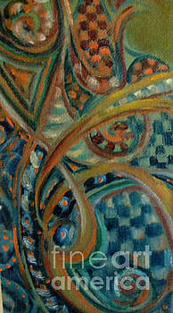 Celtic Abstract by Kathleen Hoekstra