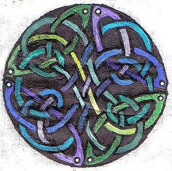 Celtic art circle by Katie Alfonsi