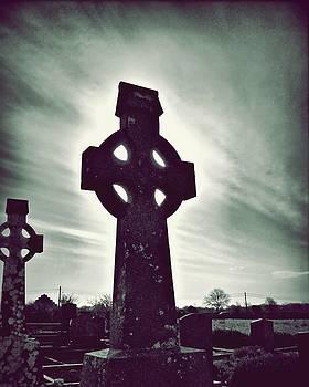 Patricia Strand - Celtic Crosses in a Graveyard