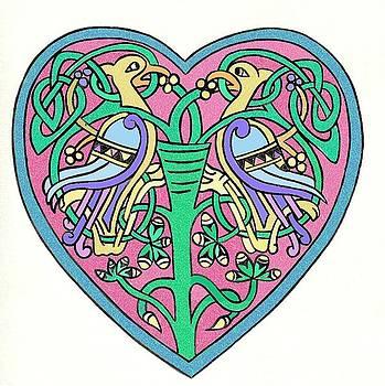 Celtic Heart by Frances Gillotti