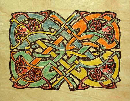 Celtic Knot 1 by David Yocum