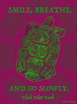 Celtic Tortoise by Celtic Artist Angela Dawn MacKay