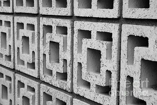 Cement Wall 2 by E B Schmidt