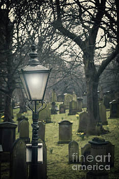 Sophie McAulay - Cemetary lamp post