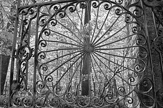 Cemetery Gate II by Sue Houston