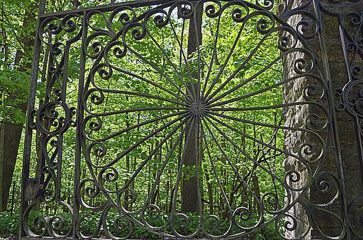 Cemetery Gate by Sue Houston