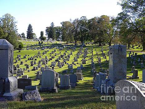 Cemetery  by Kristy Evans