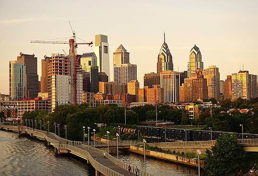 Center City Philadelphia by Ed Sweeney