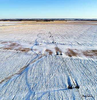 Center Pivot Shadows by Mark Dahmke