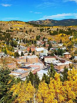 Centeral City Colorado Fall by Douglas Miller