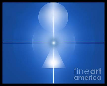 Centered Blue by John Krakora