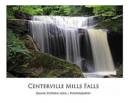 Centerville Mills Falls by Duane Loya
