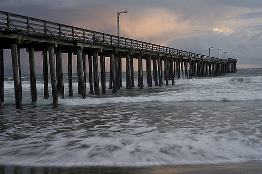 Central Coast Pier by Ron Hoggard