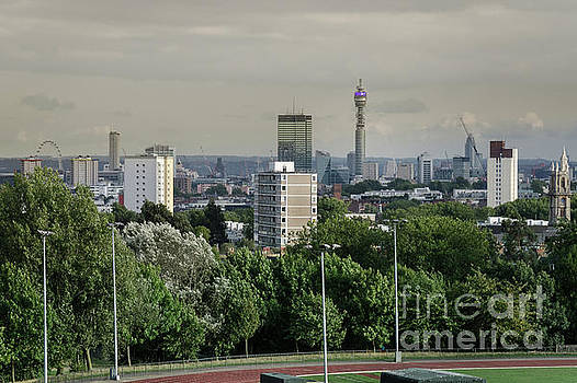 Central London Skyline by Perry Rodriguez