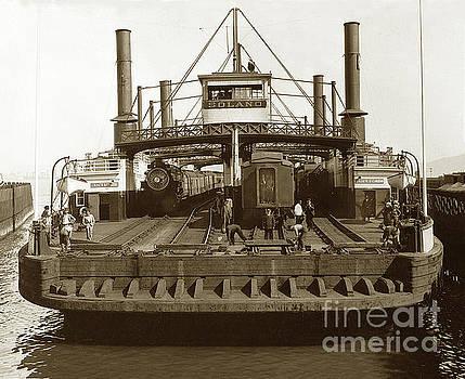 California Views Mr Pat Hathaway Archives - Central Pacific Railroad Solano  railroad ferry