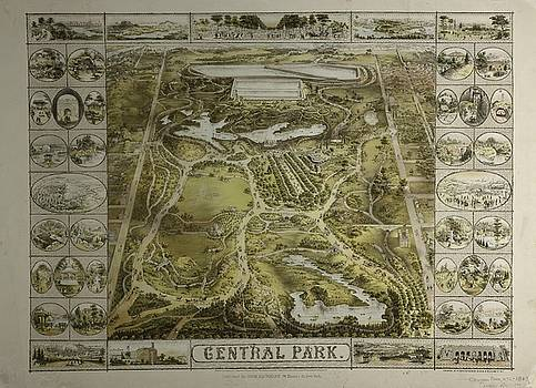 Central Park 1863 by Duncan Pearson