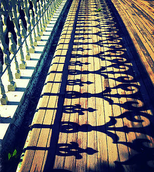 Central Park bridge-gate by Marilu Windvand