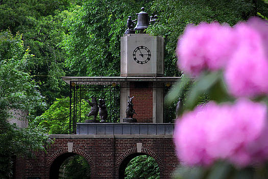 Central Park Clock by Donna Betancourt