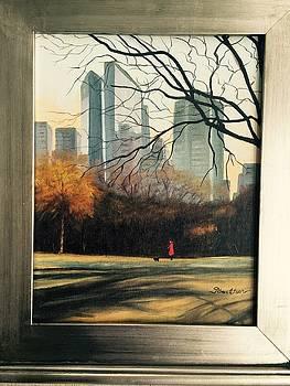 Central Park by Georgene Carlton
