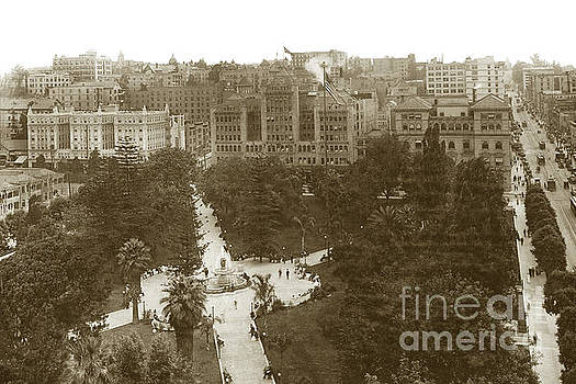 California Views Mr Pat Hathaway Archives - Central Park, later Pershing Square downtown Los Angeles  an ele