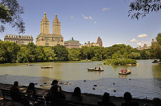 Central Park on the West Side by Donna Betancourt