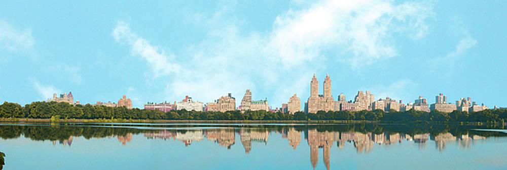 Central Park Reservoir New York by Marilu Windvand