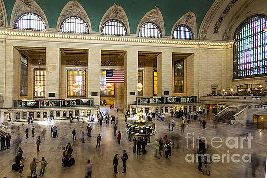 Central Station New York  by Juergen Held