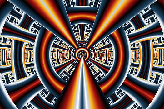 Central Vanishing Point No. 1 by Mark Eggleston