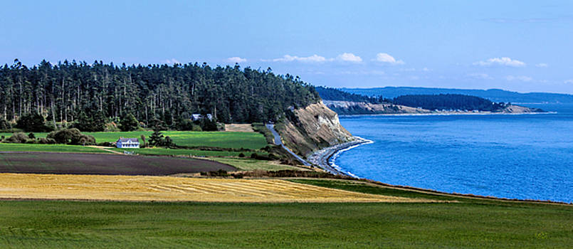 Central Whidbey Island by Rick Lawler