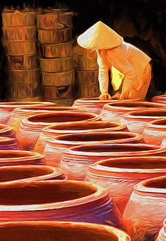 Ceramic Jar Factory by Dennis Cox Photo Explorer
