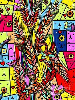 Cereals Popart Drops by Nico Bielow by Nico Bielow