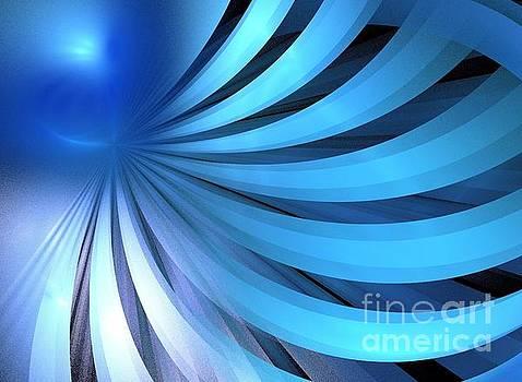 Cerulean Blue Layers by Kim Sy Ok