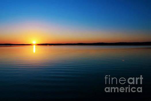 Cerulean Sunset by Kelly Nowak