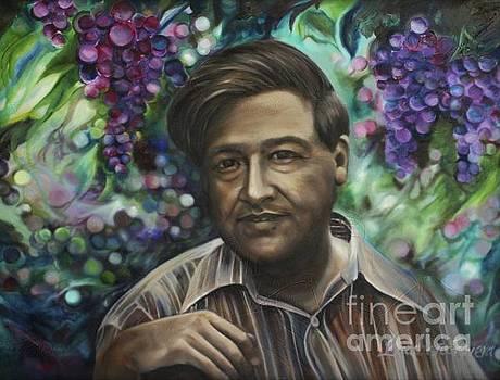 Cesar Chavez by Barbara Rivera