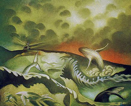 Cetacean Sunset by Gary Renegar