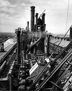 Colorado Fuel and Iron Steel Mill by Colorado Fuel and Iron Photo Department