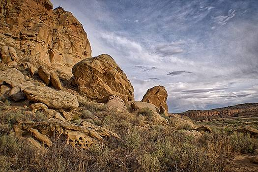 Chaco Canyon by Dori Basilius