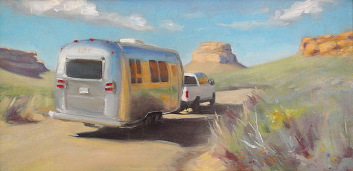 Chaco Canyon Glamping by Elizabeth Jose