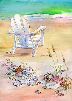 Kathleen  Gwinnett - Chair At The Beach