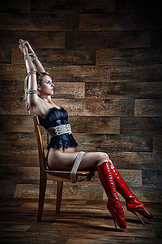 Rod Meier - Chair Bondage - Fine Art of Bondage