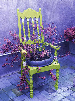 Chair in Chartreuse		 by Ann Johndro-Collins
