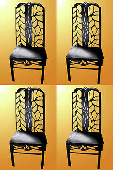 Chairs -4 by Richard Ainomujuni