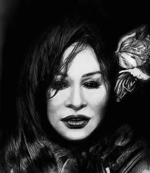 Chaka Khan by Carliss Mora