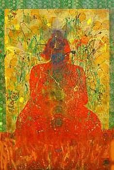 Chakra  Spectrum Buddha by Farin MEMA Greer