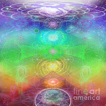Chakra Activation Geometry Template by Jahsah Ananda